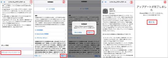 iOS11アップデート仕方