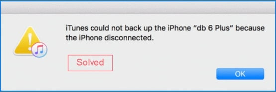 2019 Fix | iPhone Backup Disconnection Error on iTunes