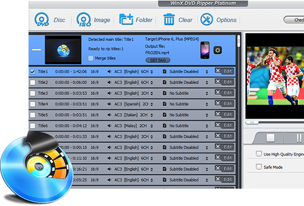 5KPlayer Best Mates - Convert DVD Video to iPhone iPad Apple TV