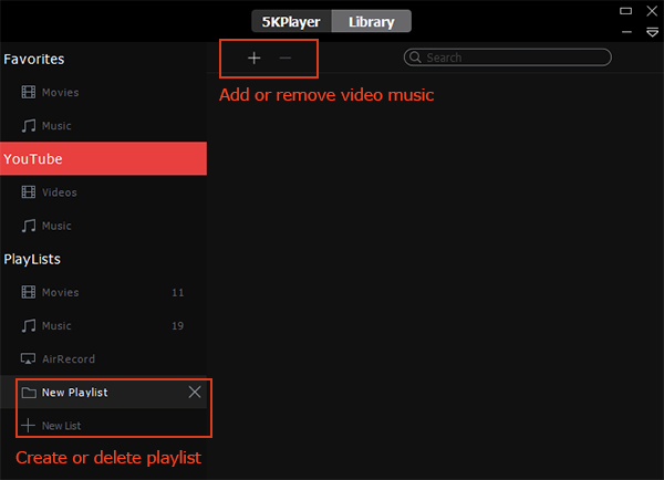 5KPlayer for Windows FAQ, troubleshootings