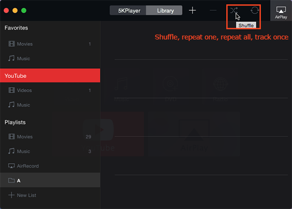 5KPlayer for Mac FAQ, troubleshootings