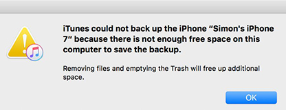 Fix Can't Change iTunes Backup Location to D Drive/NAS/DAS