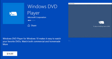 windows 10 playing dvd