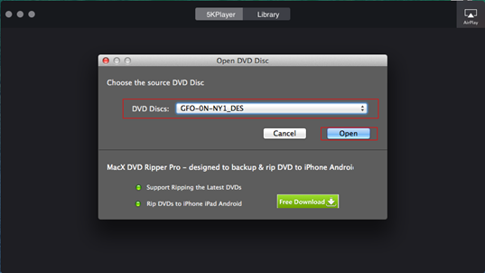 Region-free DVD Player Software to Directly Play DVD Disc
