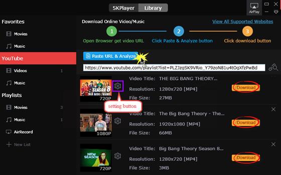 download youtube playlist online hd