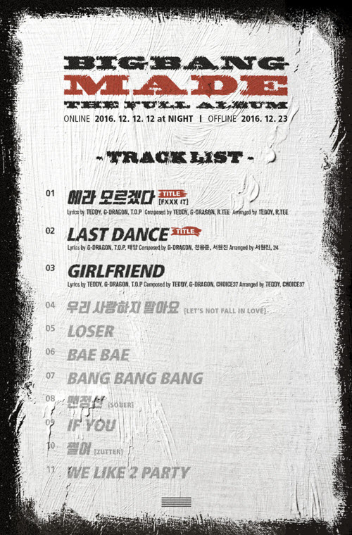 DOWNLOAD] Big Bang Made The Full Album Music Video Teaser Overview