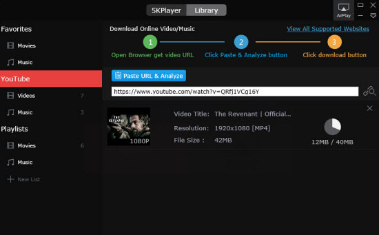Fast video downloader free download.