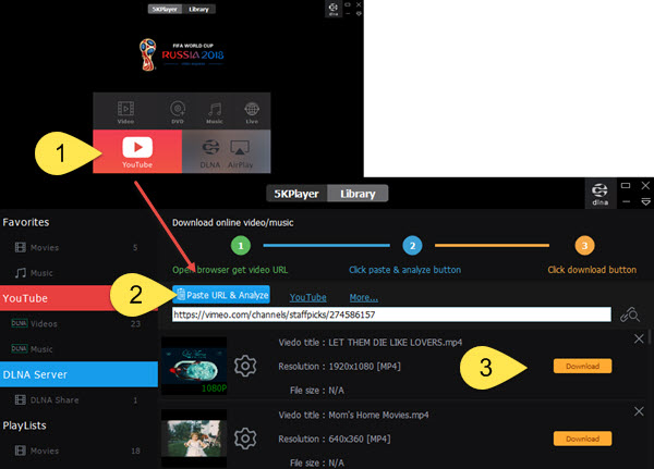 How to Download Vimeo Videos MP4, HD, 4K, 360, HDR?