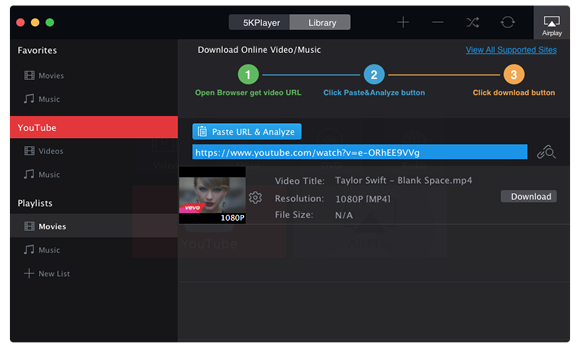 Top 5 YouTube Music Downloader Free Download