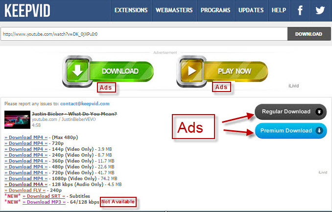 Keepvid mp3 does keepvid free download youtube to mp3