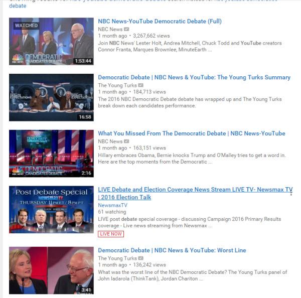 2016 Us Presidential Debate Streams Download Free