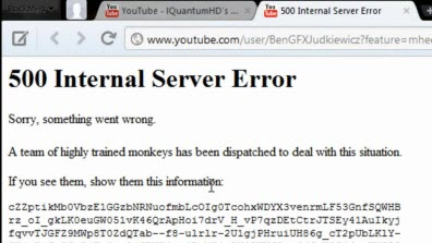 How to Fix YouTube Error - By YouTube Error 404/500 Code